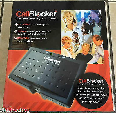 Bnib Call Blocker Complete Privacy Protection Block Unwanted Cold Nuisance Calls