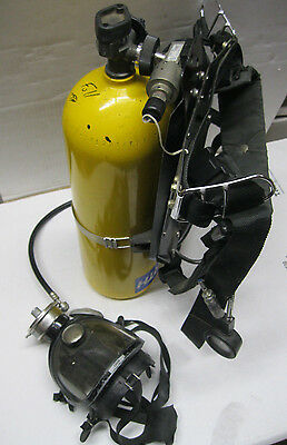North Model 800 Self Contained Breathing Apparatus SCBA Pressure Demand Type C