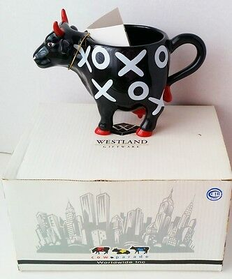 Westland 2001 Cow Parade Hugs and Smooches Mug Cup Retired Collectible   #7416