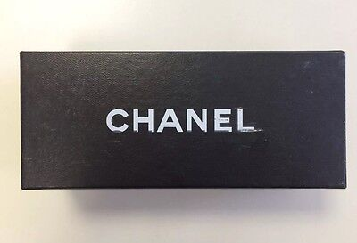 Chanel Designer Black Empty Gift Box For Sunglasses Jewellery Accessories. Only