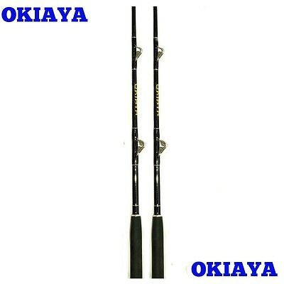 "Okiaya Composit 30-80Lb ""white Marlin""(2 Pack)Saltwater Big Game Roller Rod"