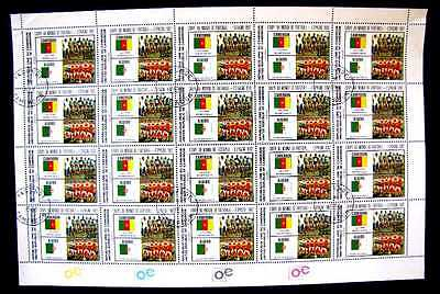 711 World Cup Semi-Finalists (20 Stamps) 1982 Mnh Og (See Note)