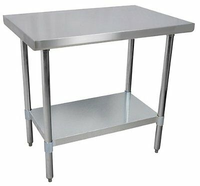 Commercial Stainless Steel Work Prep Table 24 x 30 NSF Certified