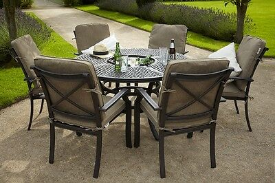 Jamie Oliver Fire Pit Garden Table And 6 Chairs