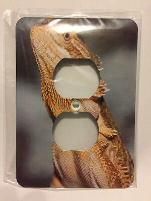 3d Rose Two Plug Outlet Bearded Dragon