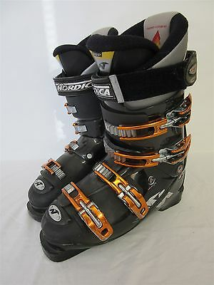 Nordica W8 ski boots - Size 26/26.5 - UK size 7/7.5 - Worn but intact
