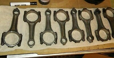 Ford Mustang 1968  302 Connecting Rods. Matched Set of 8 C8OE reconditioned.