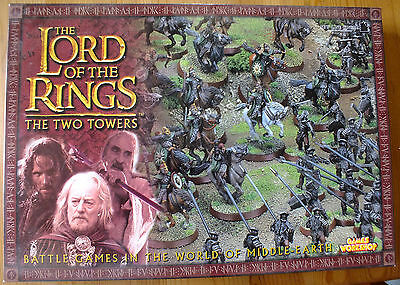 Games Workshop Lord of the Rings LOTR: The Two Towers, complete