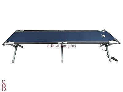 110kg Single Lightweight Camping Bed - BNIP - Folding Camp Campbed Guest
