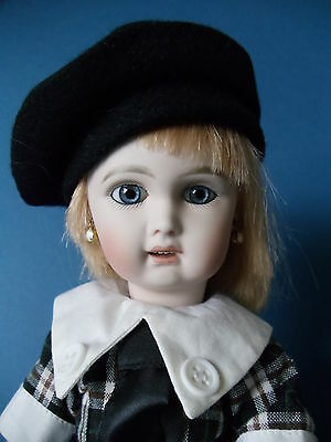 BELLETTE Beautiful BLEUETTE Jumeau Reproduction Doll by Artist JEAN NORDQUIST