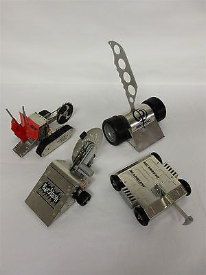 Set of 4 Robot Wars 'BattleBots' with moving parts, from original TV series.