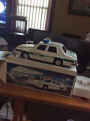 Vintage 1993 Hess Trucks Patrol Car Toy New In Box