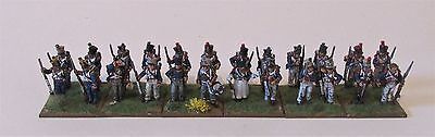 24x28mm Perry miniatures French Napoleonic line infantry at ease