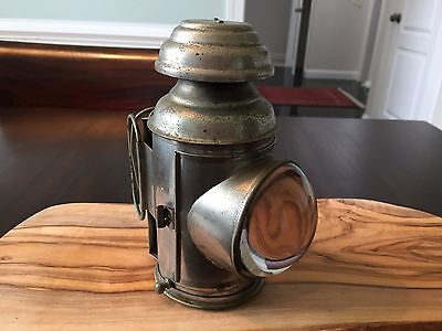Antique Miners Headlamp - Kerosene; Beautiful antique decor!