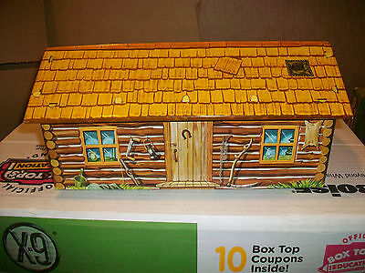 Crooked Horse Shoe Cabin From Louis Marx Toys Fort Apache Sets.