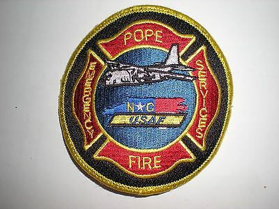 Usaf Pope Afb Fire Department Patch