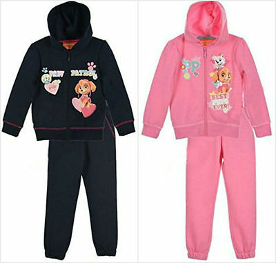 Paw Patrol Tracksuit Jogging Set Jacket Clothing Set Outfit Age 2-6Y Free P&P