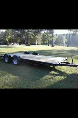 2017  7ft x 20ft car hauler with spread axle!