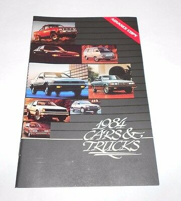 Vintage 1984 TOYOTA Cars and Trucks Color Brochure 14 Pages Excellent