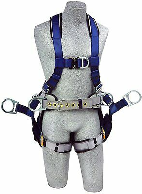 3M DBI-SALA ExoFit 1108650 Tower Climbing Harness Front/Back/Side D-Rings, Small