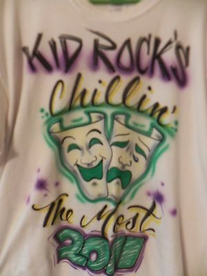 Kid Rock's 2nd Chillin' The Most Cruise CTM Mardi Gras XL Shirt Carnival Mexico