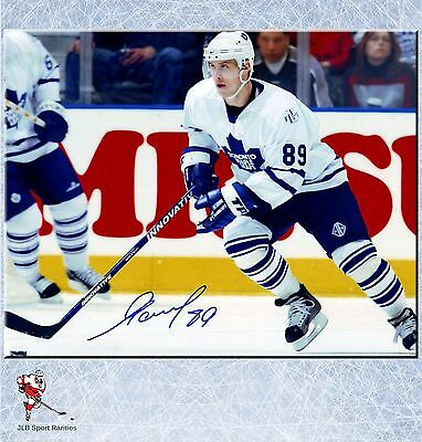 Alexander Mogilny Toronto Maple Leafs Autographed 8x10 Photo