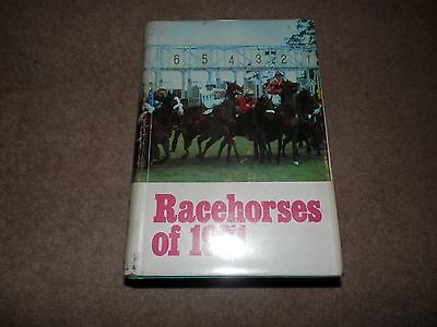 Timeform Racehorses of 1971 with Dust Jacket Mill Reef Derby Arc de Triomphe