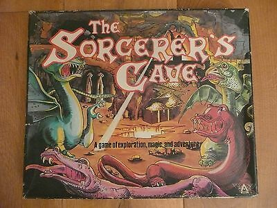 Vintage 1978 The Sorcerer's Cave board game complete (1st Edition by Ariel)