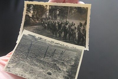 WW2 German photo lot Soviet Russian POWs and graves Russia
