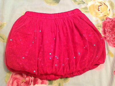 Girls Baby Gap Puff Sequin/Netted Skirt. Age 3 Years