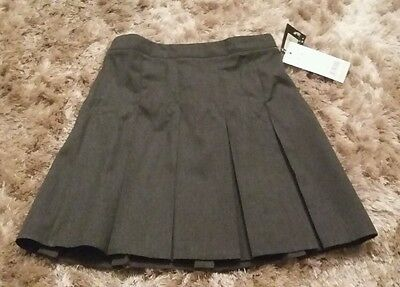 grey school skirt age 5-6 years new with tags