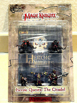 Wzk0306 Mage Knight - 3D Dungeons - Heroic Quests - The Citadel!! Neu & Ovp !!