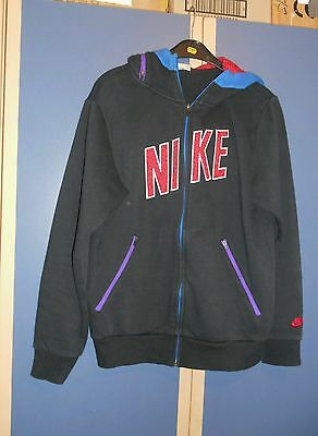Nike hooded top Size S