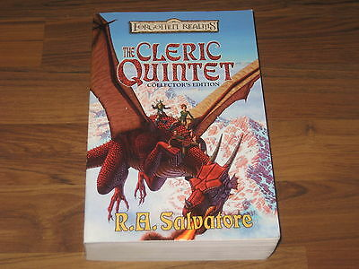 Forgotten Realms Novel The Cleric Quintet Collector's Edition SC WotC 2002