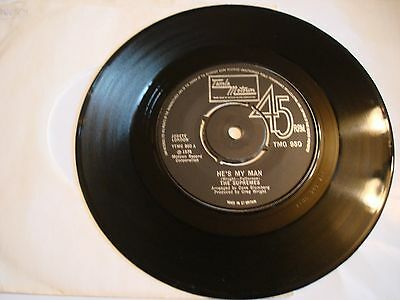 """the supremes - he,s my man,7"""" vinyl"""
