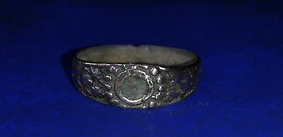 Medieval bronze Finger Ring.11th - 13th century.