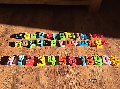 Charlie And Lola Wooden Letters And Numbers