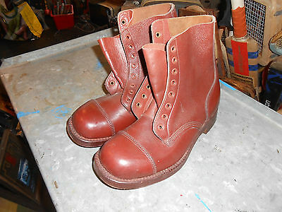 mens army boots vintage officers new boots size 7