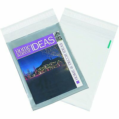 """2000 10""""x13"""" Clear View Poly Mailer Shipping Plastic Mailing Envelopes Bags 2.5"""