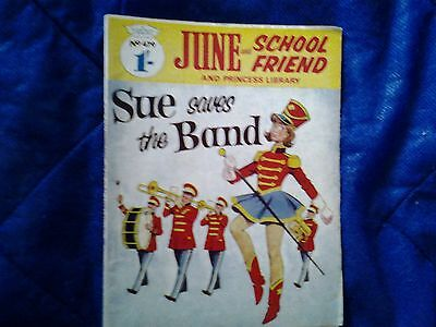 JUNE and SCHOOLFRIEND & PRINCESS  library  No.479/1968