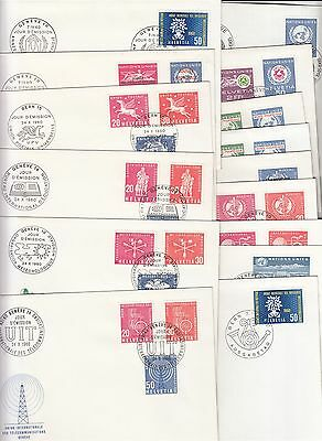 15 covers International offices Switzerland 1960 / 1965