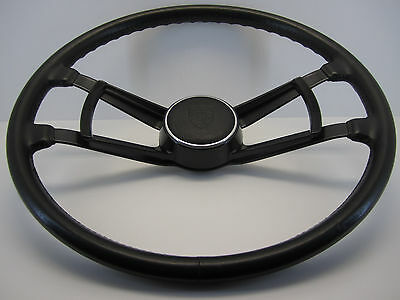 PORSCHE 911 912 914 901 LEATHER Steering Wheel 420mm PERFECT condition Volante