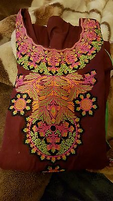 indian/pakistani embroided kurta/kameeze for woman