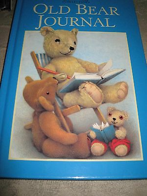 Old Bear lined writing Book. Lovely item