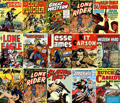 Western Comics Golden Age 195 Golden Age Issues on DVD -  Disk 1