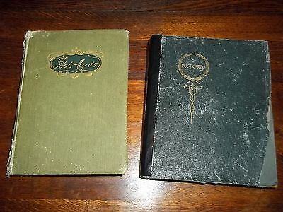2 Vintage Postcard Albums Containing Almost 600 Postcards
