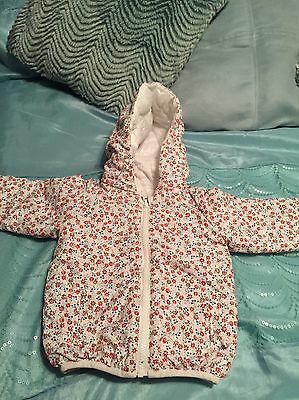 M&S Girls Floral Cost Age 12-18 Mths