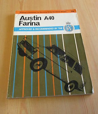Austin A40 Farina Pearsons  Service  Manual Rac Recommended Workshop Repair