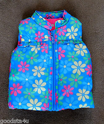 M&S  girls body warmer size 2-3y. excellent.