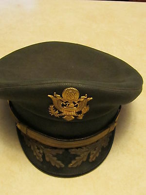 WWII Korean US Colonel cap in great shape - named